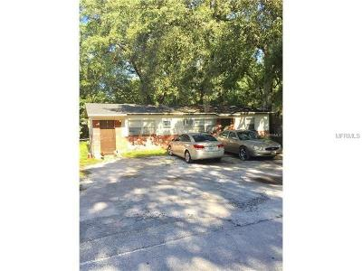 Hernando County, Hillsborough County, Pasco County, Pinellas County Multi Family Home For Sale: 10014 N Brooks Street