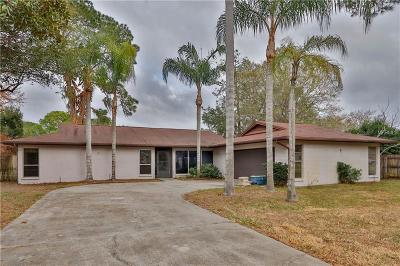 Land O Lakes Single Family Home For Sale: 3056 Lake Padgett Drive