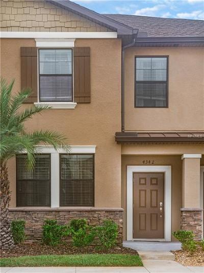 Wesley Chapel Townhouse For Sale: 4342 Fennwood Court