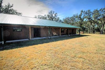 Hernando County Single Family Home For Sale: 22250 Hayman Road