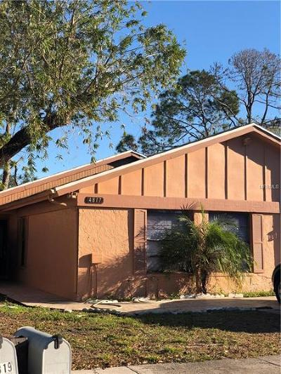 Tampa Single Family Home For Sale: 4817 Grove Point Drive