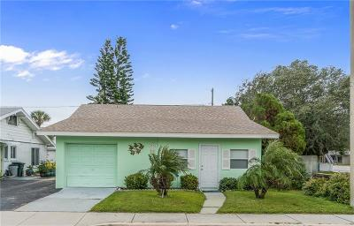 St Pete Beach Single Family Home For Sale: 3503 Gulf Boulevard