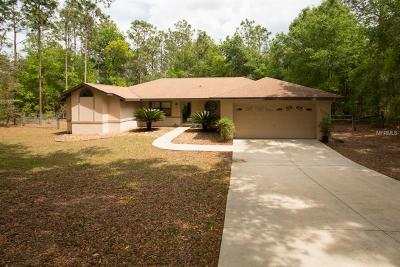 Beverly Hills, Citrus Hills, Citrus Springs, Crystal River, Dunnellon, Floral City, Hernando, Homassa, Homosassa, Inverness, Lecanto, Port Charlotte Single Family Home For Sale: 12055 S Canna Point