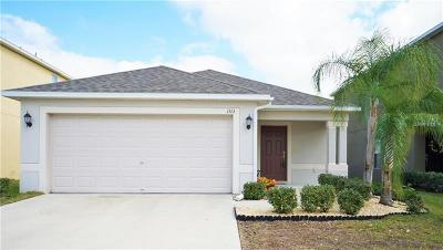 Hillsborough County Single Family Home For Sale: 1313 Trailwater Street