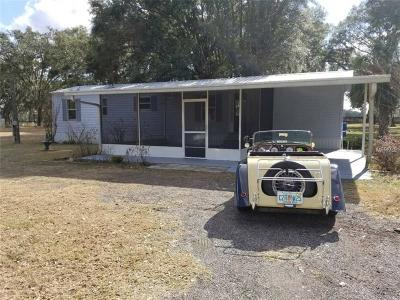 Plant City Mobile/Manufactured For Sale: 5961 Harvey Tew Road