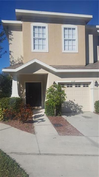 Tampa Townhouse For Sale: 1137 Andrew Aviles Circle