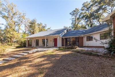 Dade City Single Family Home For Sale: 11970 Just-A-Mere Lane