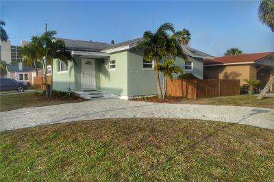Madeira Beach Single Family Home For Sale: 154 154th Avenue
