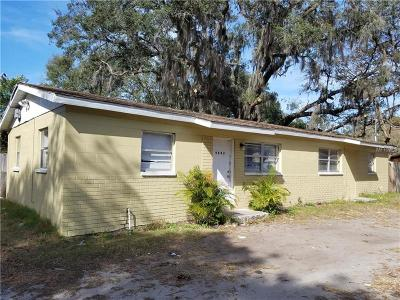 Tampa Single Family Home For Sale: 9802 N Brooks Street #AB