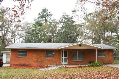 Brooksville Single Family Home For Sale: 1514 Sabra Drive