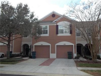 Wesley Chapel Townhouse For Sale: 26650 Castleview Way