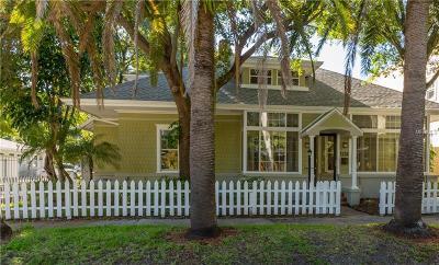 St Petersburg Single Family Home For Sale: 1224 Cherry Street NE