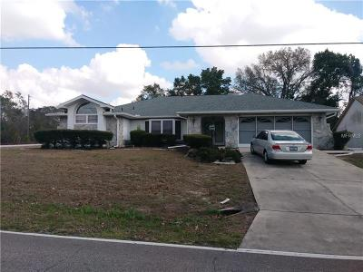 Spring Hill, Springhill Single Family Home For Sale: 10158 Horizon Drive