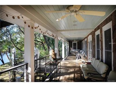 Homosassa Single Family Home For Sale: 11322 W Grybek Drive