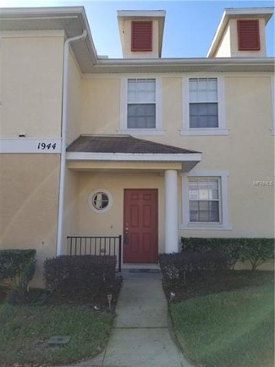 Tampa Townhouse For Sale: 1944 Fiesta Ridge Court