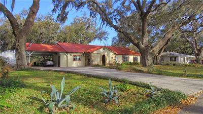 Auburndale Single Family Home For Sale: 504 Lake Lena Boulevard