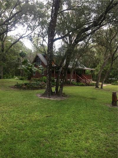 Dade City Single Family Home For Sale: 5199 Olivet Drive