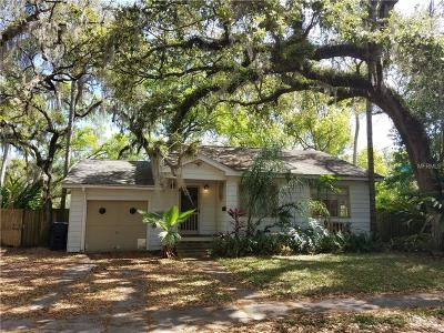Hernando County, Hillsborough County, Pasco County, Pinellas County Single Family Home For Sale: 1502 E Park Circle