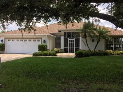 Englewood FL Single Family Home For Sale: $479,000
