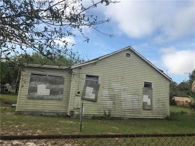 Tampa Single Family Home For Sale: 3424 Phillips Street