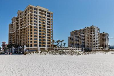 Clearwater, Clearwater Beach Condo For Sale: 11 Baymont Street #604