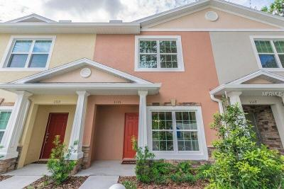 Wesley Chapel Townhouse For Sale: 1128 Hillhurst Drive