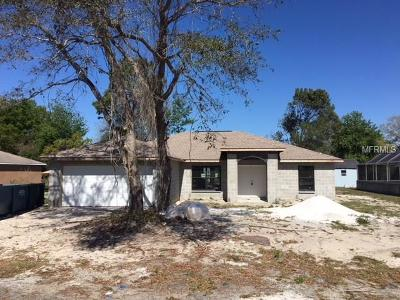 Spring Hill FL Single Family Home For Sale: $187,500