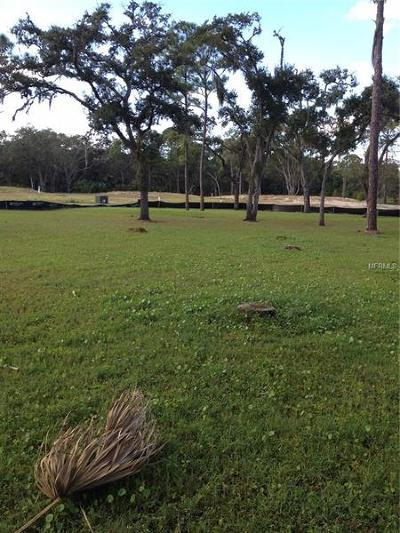 Hernando County, Hillsborough County, Pasco County, Pinellas County Residential Lots & Land For Sale: 7824 Marsh Pointe Drive