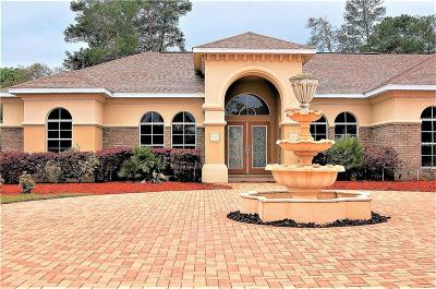 Weeki Wachee Single Family Home For Sale: 7264 Sylvan Glade Court