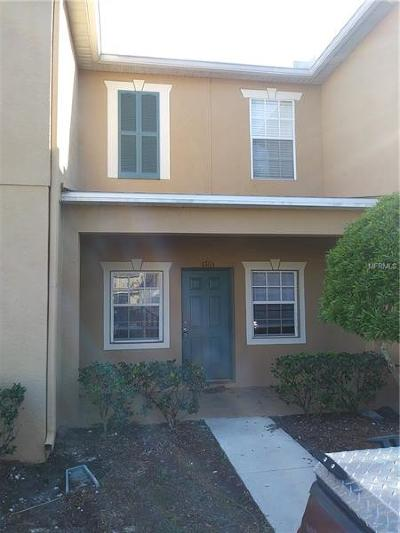 Gibsonton Townhouse For Sale: 6765 Lake Rochester Lane