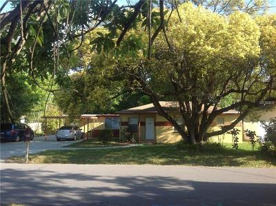 Hillsborough County, Pasco County, Pinellas County Single Family Home For Sale: 1913 W Mohawk Avenue