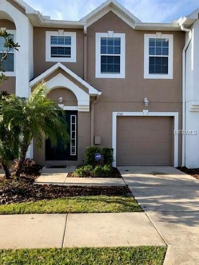 Tampa Townhouse For Sale: 4544 Ashburn Square Drive