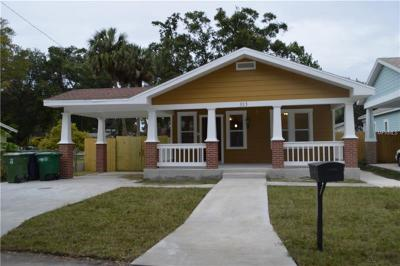 Tampa Single Family Home For Sale: 313 W Ida Street