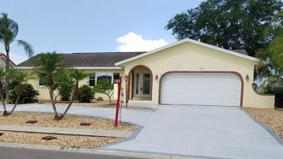 Apollo Beach FL Single Family Home For Sale: $286,000