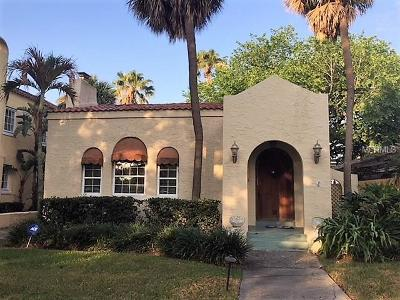 Tampa Single Family Home For Sale: 58 Columbia Drive