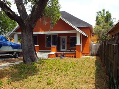 Single Family Home For Sale: 5303 N Tampa Street