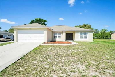 Weeki Wachee Single Family Home For Sale: 7425 Jasbow Junction