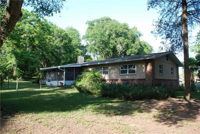 Dade City Single Family Home For Sale: 11914 Duck Lake Canal Road