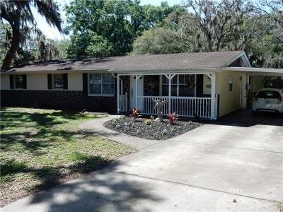 Valrico Single Family Home For Sale: 4805 Stearns Road