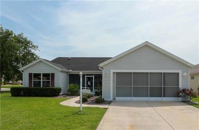 Sumter County Single Family Home For Sale: 1509 Barrera Court