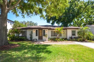 Tampa Single Family Home For Sale: 4614 W Estrella Street