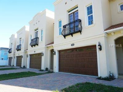 Tampa Townhouse For Sale: 3226 W Empedrado Street