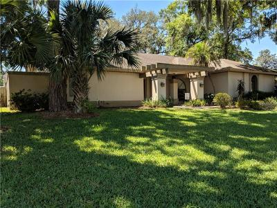 Plant City Single Family Home For Sale: 2821 Hammock Drive