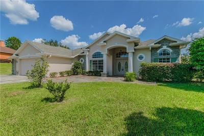 Weeki Wachee Single Family Home For Sale: 11414 Warm Wind Way