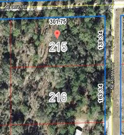 Levy County Residential Lots & Land For Sale: NE 107th Court