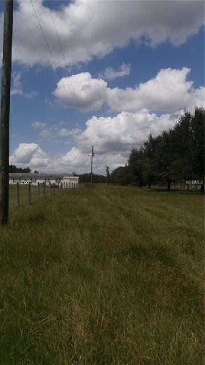 Plant City Residential Lots & Land For Sale: 4620 Justin Lane
