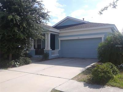 Apollo Beach FL Single Family Home For Sale: $309,900
