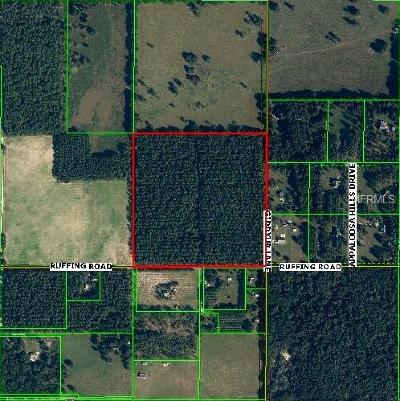 Dade City Residential Lots & Land For Sale: Ruffing Road