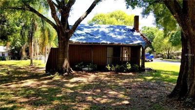 Plant City Single Family Home For Sale: 1202 N Gordon Street
