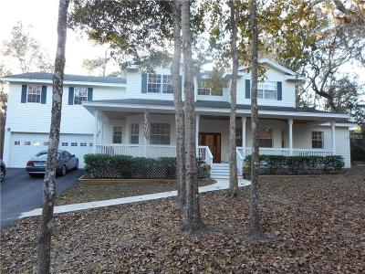Brooksville Single Family Home For Sale: 5195 Cedar Lane